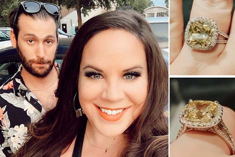 'My Big Fat Fabulous Life' Star Whitney Thore Gets the Sapphire Ring of Her Dreams