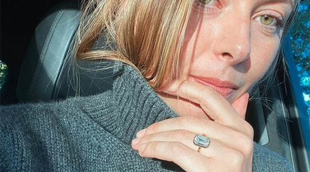 Former Tennis Star Maria Sharapova Reveals Her Emerald-Cut Diamond Engagement Ring
